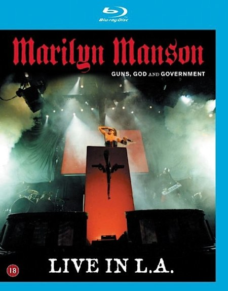 Marilyn Manson Guns God and Government world Tour (Blu-ray)