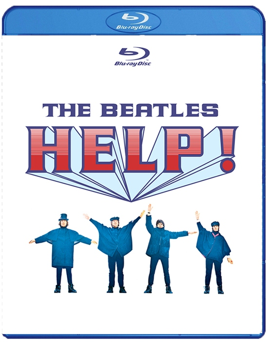 The Beatles Help (The Beatles На помощь) (Blu-ray)