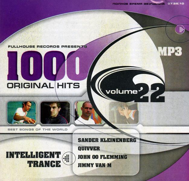 1000 Original Hits (vol.22) Intellegent Trance (mp 3)