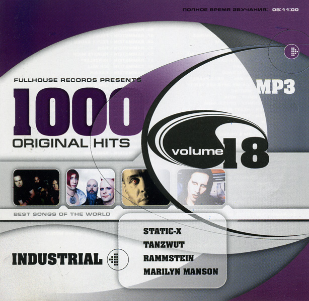 1000 Original Hits (vol.18) Industrial (mp3)