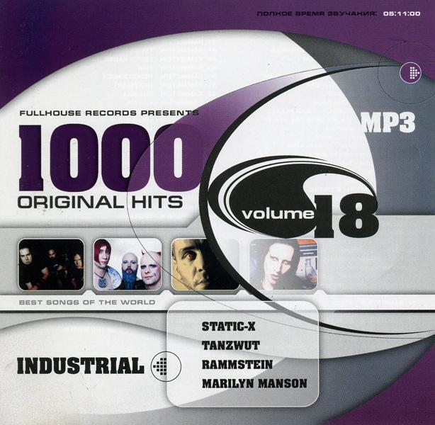 1000 Original Hits (vol.18) Industrial (mp3)
