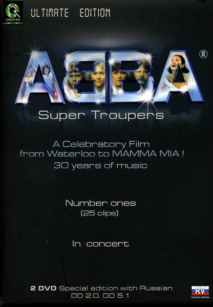 ABBA: Super Troupers (2 dvd)