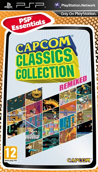 Capcom Classic Collection Remixed (PSP)