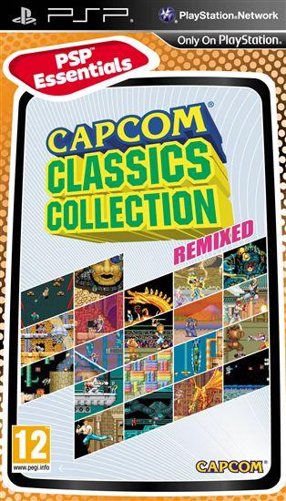 Capcom ClassicCollection Remixed (PSP)