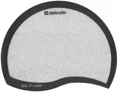 Коврик для мышки Defender opti-laser пластиковый черный 50511