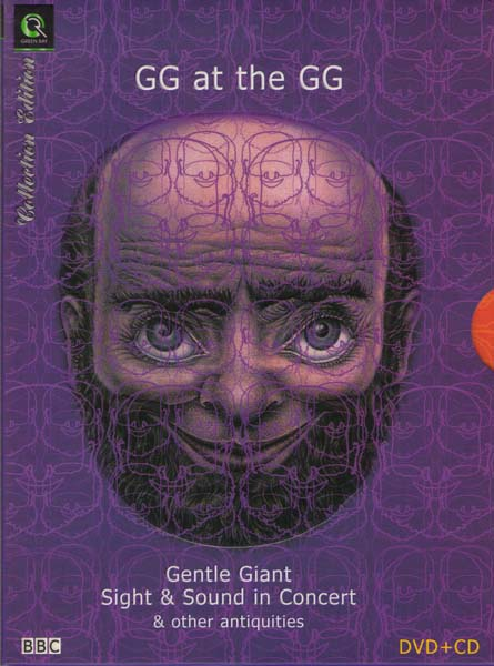 Gentle Giant - GG at the GG - Sight  Sound in Concert (CD DVD)