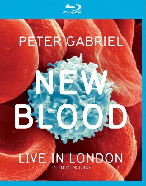 Peter Gabriel New Blood Live in London 3D (Blu-ray 50GB)