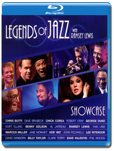 Legends of JAZZ with Ramsey Lewis Showcase (Blu-ray)