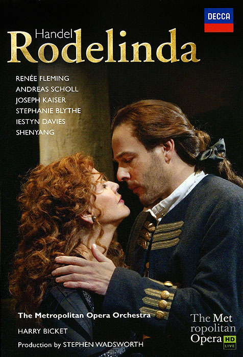 Handel Harry Bicket Rodelinda (2 DVD)