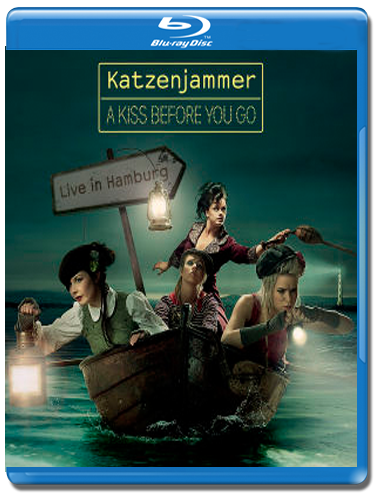 Katzenjammer A Kiss Before You Go Live in Hamburg (Blu-ray)