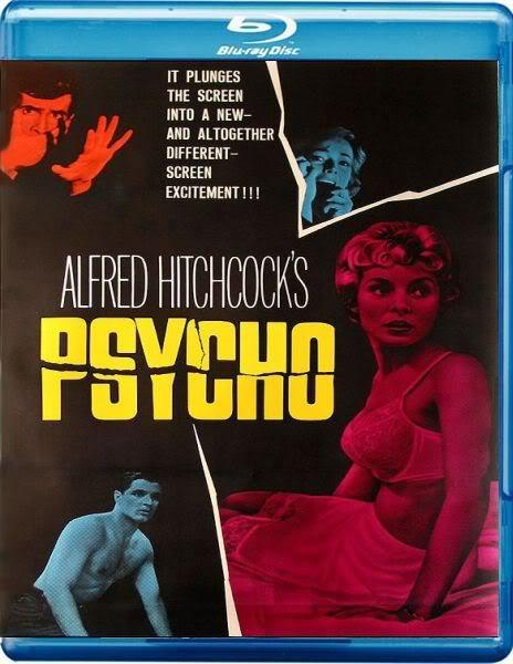 Альфред Хичкок: Фильмография : Психо (Blu-ray)