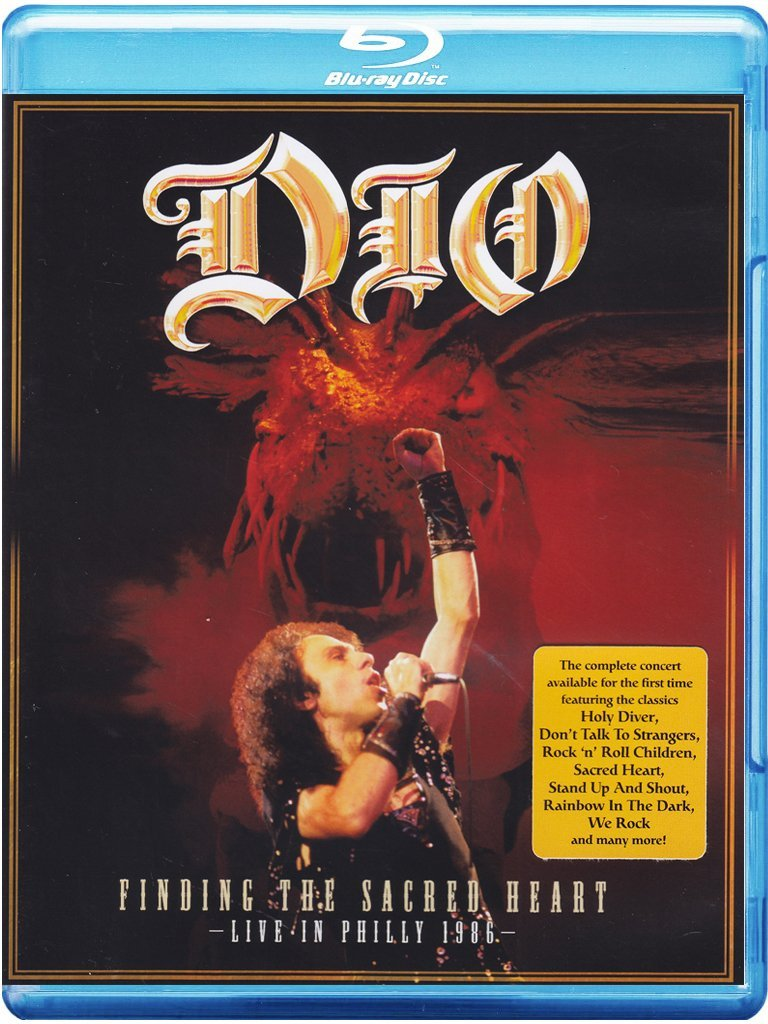 Dio Finding the Sacred Heart Live in Philly 1986 (Blu-ray)