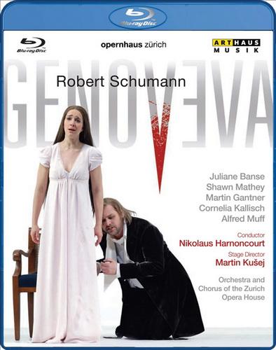 Robert Schumann Genoveva (Роберт Шуманн Геновева) (Blu-ray)