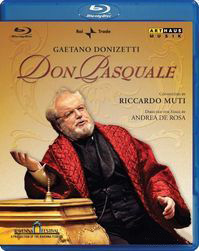 Donizetti Don Pasquale Live from the Ravenna Festival (Blu-ray)