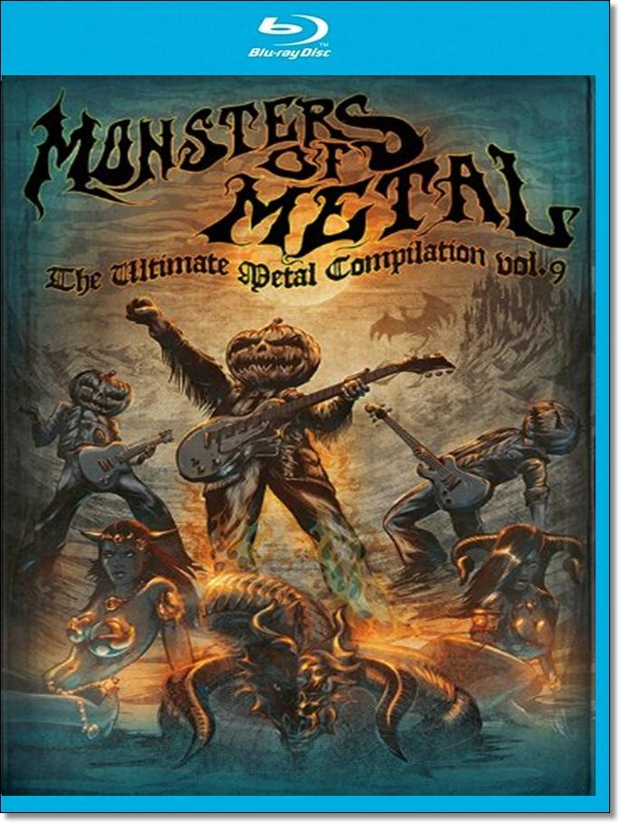 Monsters of Metal Vol 9 (Blu-ray)