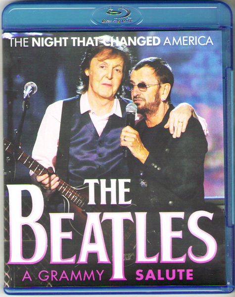 The Beatles The Night That Changed America A Grammy Salute (Blu-ray)