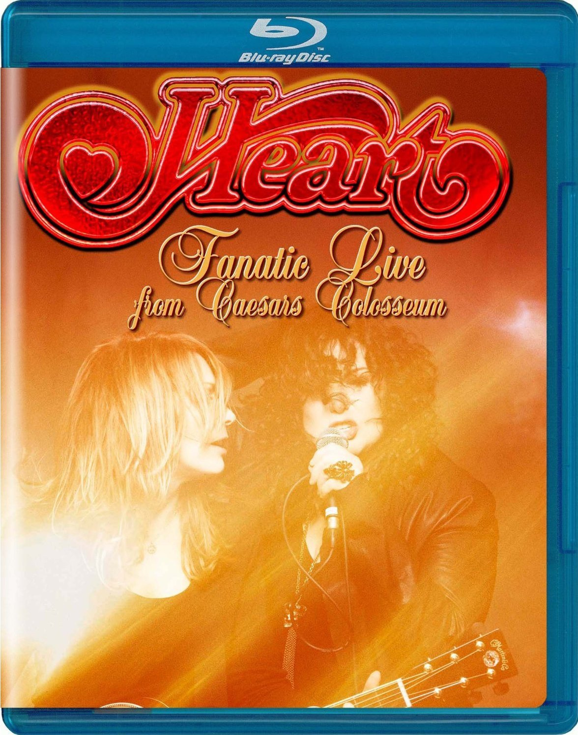 Heart Fanatic Live From Caesars Colosseum (Blu-ray)