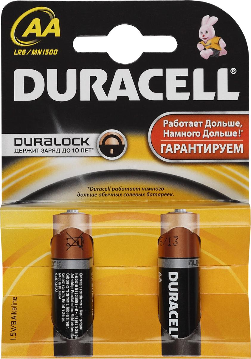 Эл.питания LR-06 Duracell /2 шт