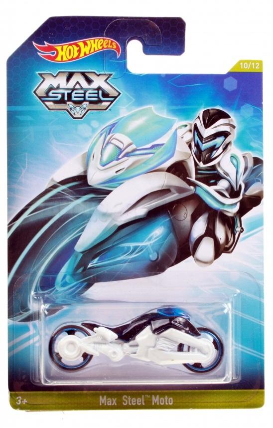 Hot Wheels Машинки серии Max Steel Moto