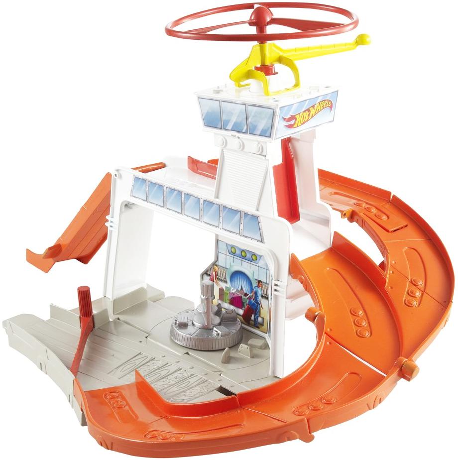 Hot Wheels Игровой набор Copter Port