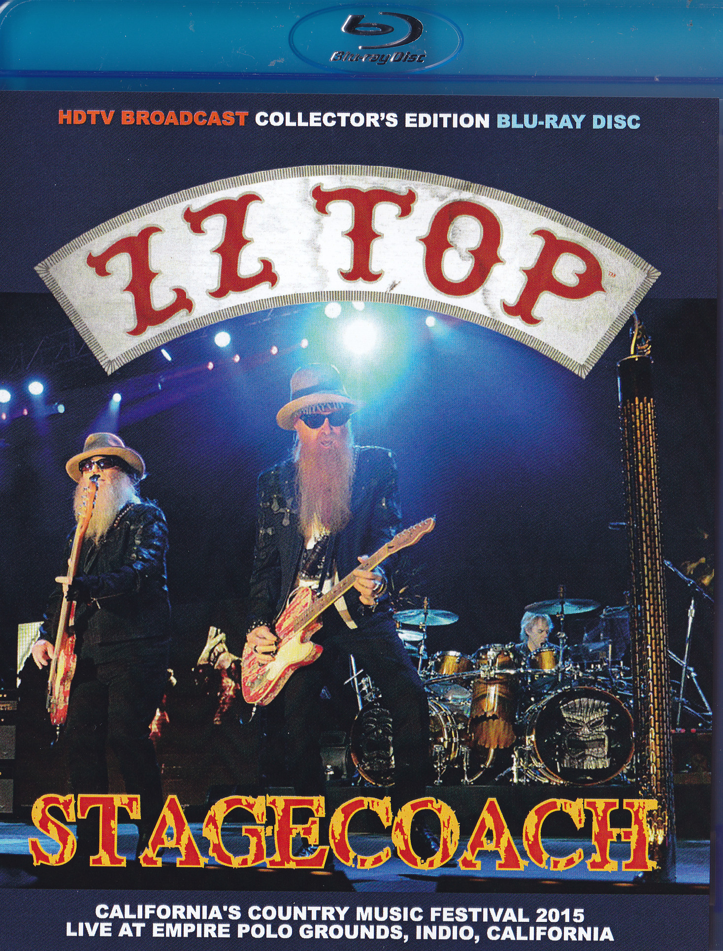 ZZ Top Stagecoach Californias Country Music Festival (Blu-ray)