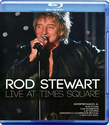 Rod Stewart Live from Nokia Time Square (Blu-ray)