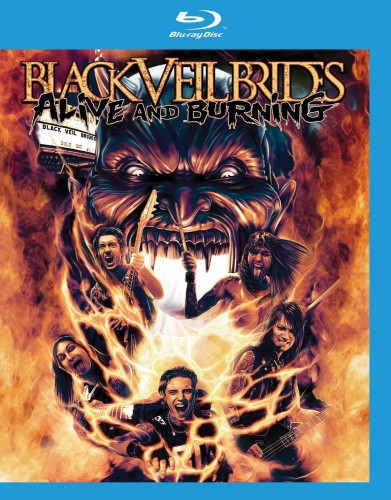 Black Veil Brides Alive and Burning (Blu-ray)