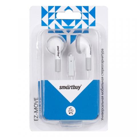 Гарнитура Smartbuy EZ-MOVE микрофон, кабель 1,5м SBH-8000