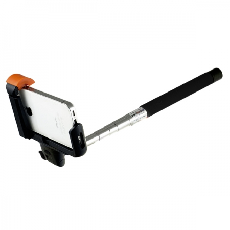 Perfeo M6 Selfie Stick/ 20-102 cm/ Big holder/ BT 3.0/ Black